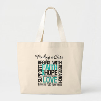 Finding a Cure For Polycystic Ovary Syndrome PCOS Canvas Bag