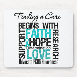 Finding a Cure For Polycystic Ovary Syndrome PCOS Mouse Pad