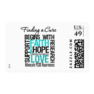 Finding a Cure For Polycystic Ovary Syndrome PCOS Stamps
