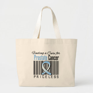 Finding a Cure For Prostate Cancer PRICELESS Bag
