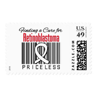 Finding a Cure For Retinoblastoma PRICELESS Postage Stamps