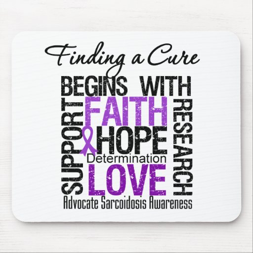 Finding a Cure For Sarcoidosis Mouse Pad