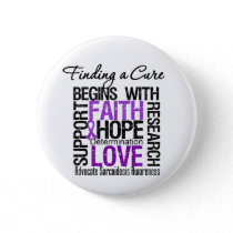 Finding a Cure For Sarcoidosis Pinback Button