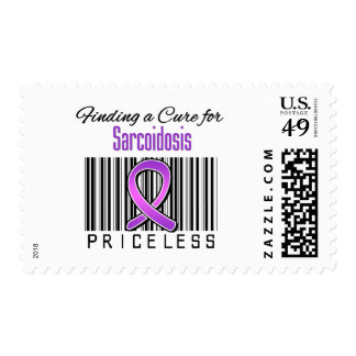 Finding a Cure For Sarcoidosis PRICELESS Postage Stamps