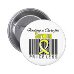 Finding a Cure For Sarcoma PRICELESS Buttons