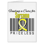 Finding a Cure For Sarcoma PRICELESS Greeting Cards