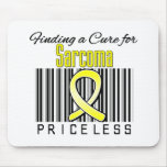 Finding a Cure For Sarcoma PRICELESS Mouse Mat