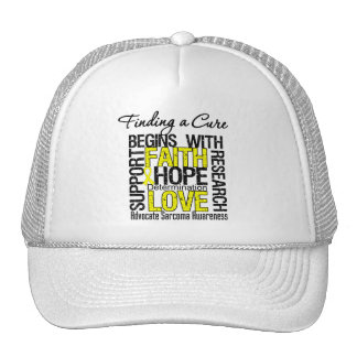 Finding a Cure For Sarcoma Trucker Hat