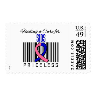 Finding a Cure For SIDS PRICELESS Postage Stamp