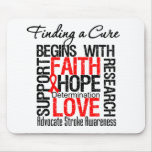 Finding a Cure For Strokes Mouse Mat