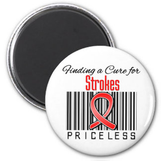 Finding a Cure For Strokes PRICELESS Magnet