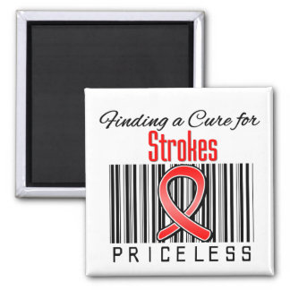 Finding a Cure For Strokes PRICELESS Fridge Magnets