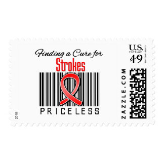 Finding a Cure For Strokes PRICELESS Stamps