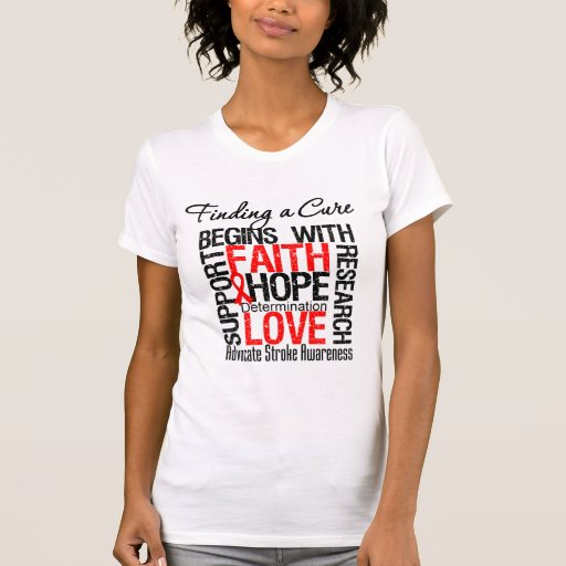 Finding a Cure For Strokes T-shirt