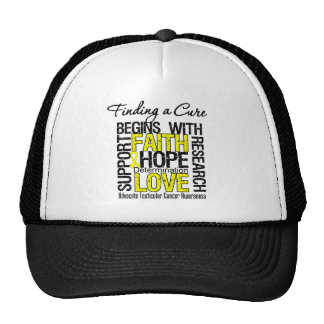 Finding a Cure For Testicular Cancer Trucker Hat