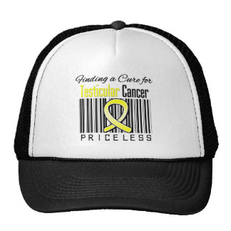 Finding a Cure For Testicular Cancer PRICELESS Trucker Hat