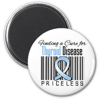 Finding a Cure For Thryoid Disease PRICELESS Fridge Magnet