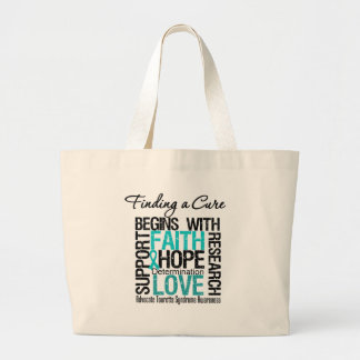 Finding a Cure For Tourette Syndrome Tote Bags