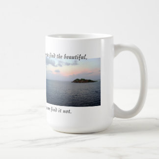 Finding Beauty Coffee Mug