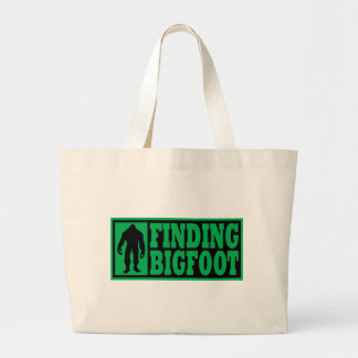Finding Bigfoot Logo Gear Large Tote Bag