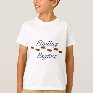 Finding Bigfoot with Footprints T-Shirt