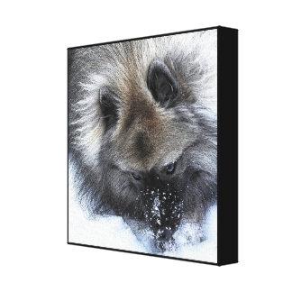 """Finding Buried Treasure"". digital print on canvas"