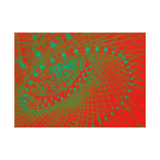 Finding Center Canvas Print