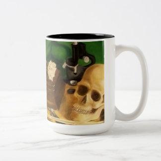 finding clues coffee mug
