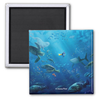 Finding Dory | An Unforgettable Journey 2 Inch Square Magnet