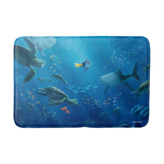 Finding Dory | An Unforgettable Journey Bathroom Mat