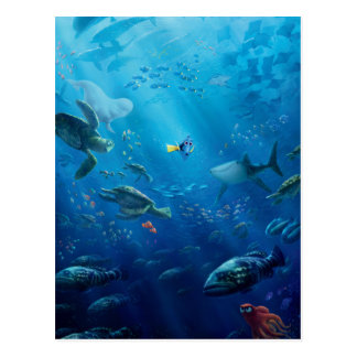 Finding Dory   An Unforgettable Journey Postcard