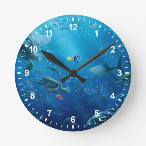 Finding Dory | An Unforgettable Journey Round Clock