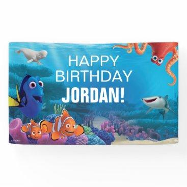 birthday Finding Dory Birthday Banner