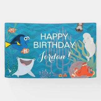 Finding Dory Birthday Banner