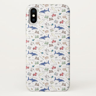 Finding Dory Cartoon White Pattern iPhone X Case