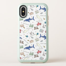 Finding Dory Cartoon White Pattern OtterBox Symmetry iPhone X Case