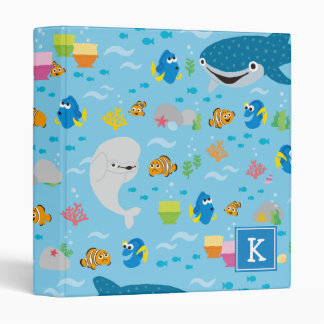 Finding Dory Colorful Pattern 3 Ring Binder