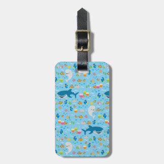 Finding Dory Colorful Pattern Bag Tag