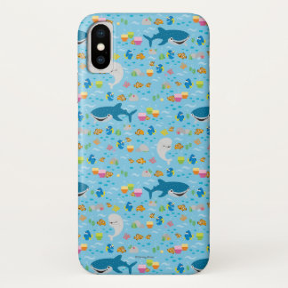 Finding Dory Colorful Pattern iPhone X Case