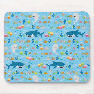 Finding Dory Colorful Pattern Mouse Pad