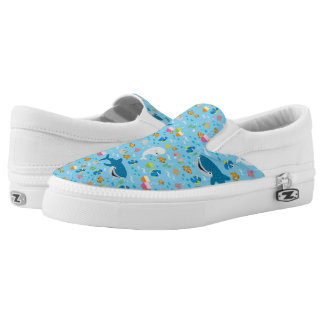 Finding Dory Colorful Pattern Slip-On Sneakers