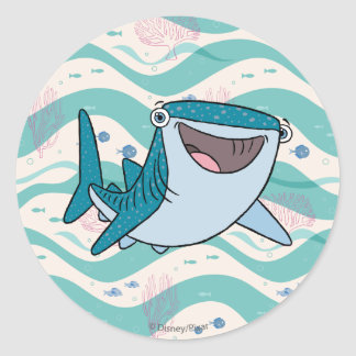 Finding Dory Destiny Classic Round Sticker