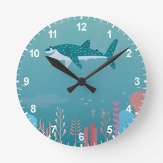 Finding Dory | Destiny the Whale Shark Round Clock