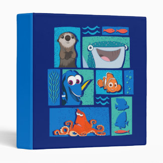 Finding Dory   Group of Characters Binder