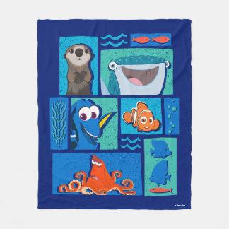 Finding Dory   Group of Characters Fleece Blanket
