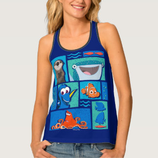 Finding Dory | Group of Characters Tank Top