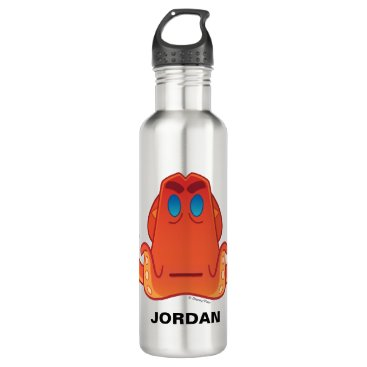 Disney Themed Finding Dory   Hank Emoji Water Bottle