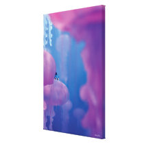 Finding Dory | Hide and Seek - Jellyfish Canvas Print