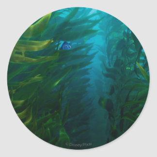 Finding Dory | Hide and Seek - Sea Kelp Classic Round Sticker