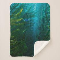 Finding Dory | Hide and Seek - Sea Kelp Sherpa Blanket